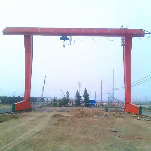 L Model Single girder Overhead Gantry Cranes
