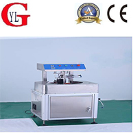 Semi-automatic vacuum screw cap machine