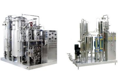 Смесительная машина газированной воды