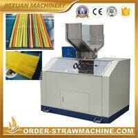 Flexible drinking straw bending machine