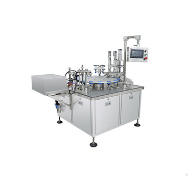 LM-XSGX rotary perfume filling and capping machine