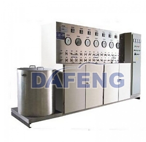 Lab supercritical extraction device