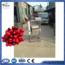High quality multifunction fruit pitting machine/green olive stone extractor machine