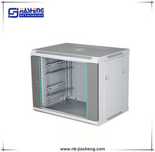 19'' glass door Wall Mounted Cabinet network server cabinet lock