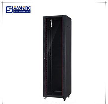 19'' Glass door rack cabinet server cabinet 42u