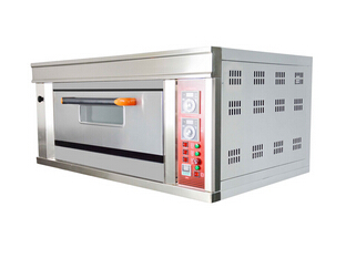 2 Decks 4 Trays Luxury Electric Oven with Proofer