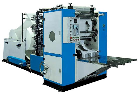 CDH -200/2B Two Colors Printing Drawing Facial Tissue Machine