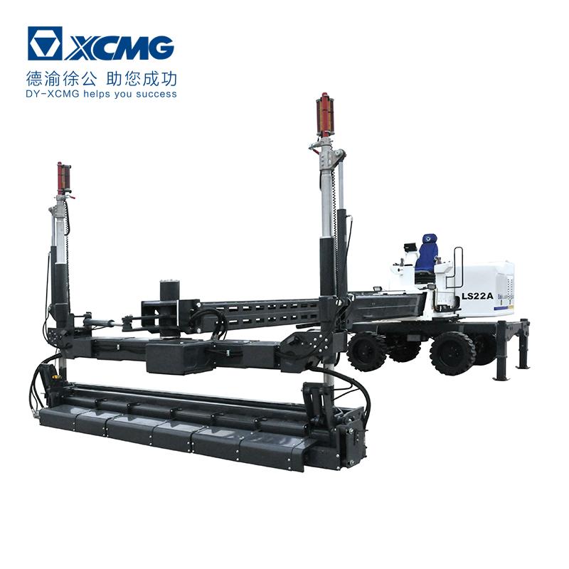 automatic levelling laser concrete screed machine