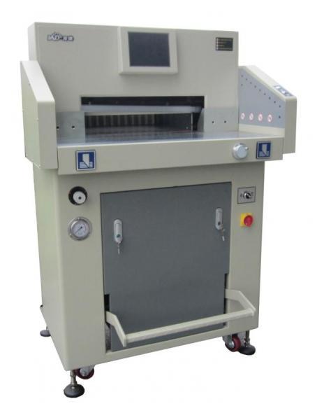 Тяжелая программно-управляемая гидравлическая бумагорезальная машина  WD-520H