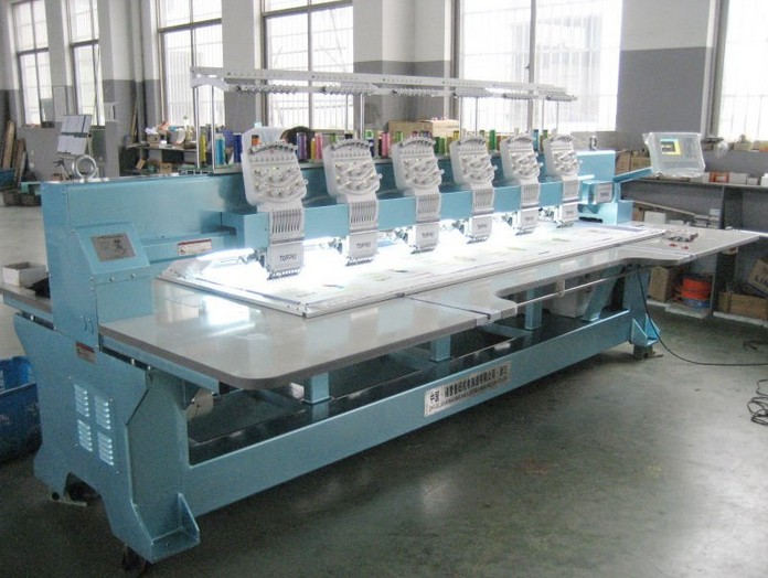 The TP906 (400 500x900) flat embroidery machine
