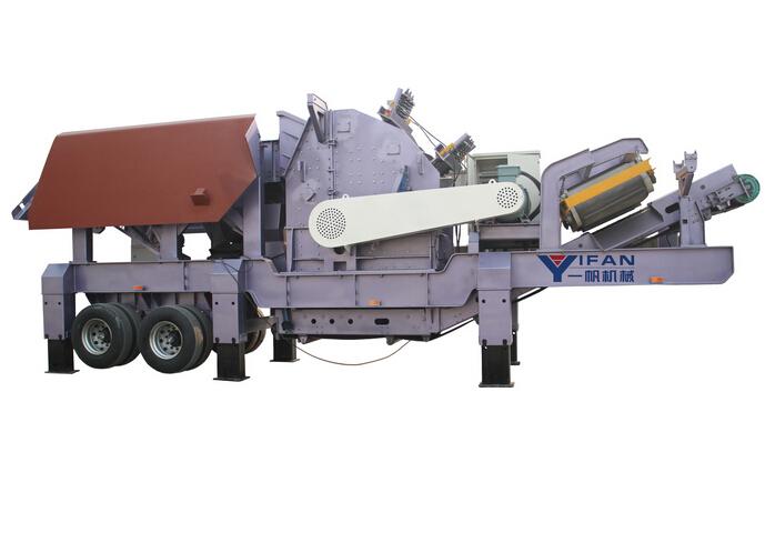 Оборудование обработки строительного мусора типа охраны окружающей среды – передвижная установка дробления
