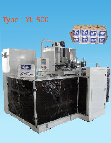 YL-500 Toilet Tissue Automatic Packaging Machine