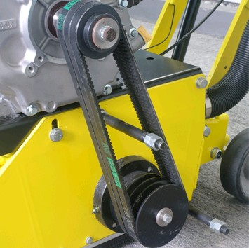 Push Model Concrete Scarifier