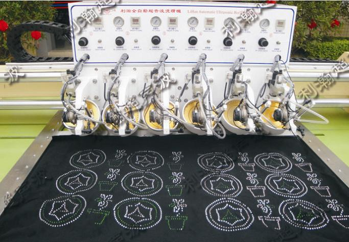 HD-TZ200601 Automatic CNC Six Heads Hot Fix Machine