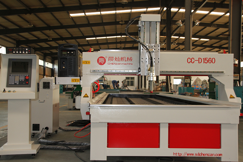 1500x6000mm Plasma Cutting Machine