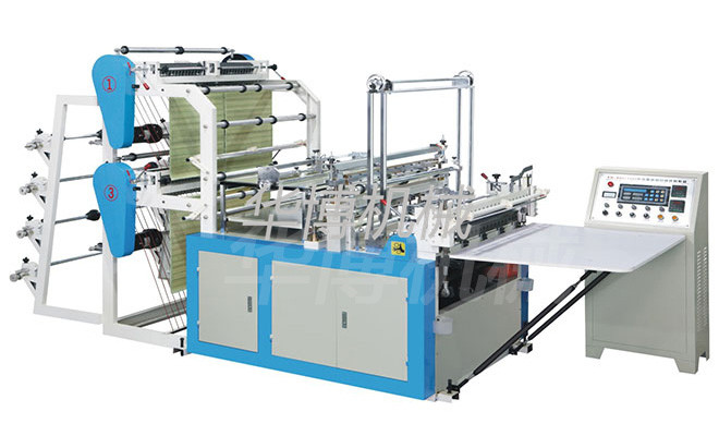 4 lines Plastic Bag making machine