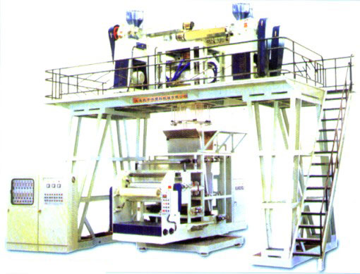 Three Layer Plastics Coextrusion down Blowing Lamination Film Line