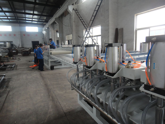 PVC Foam Extrusion Machine