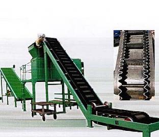 Big Dip Angle Belt Conveyor