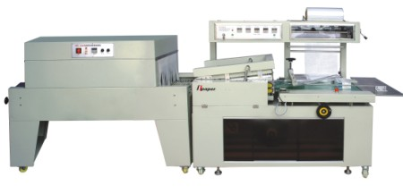 Automatic box paper collective thermal shrink packing machine
