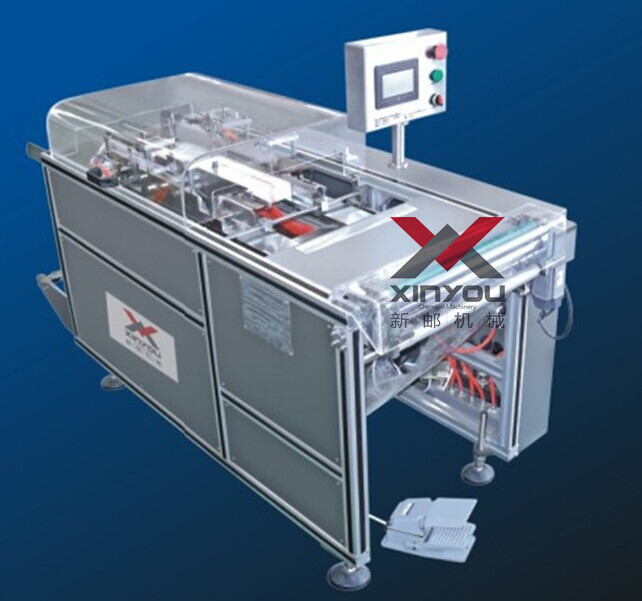 YMJ-120 Semi-automatic Transparent Film 3D Packing Machine
