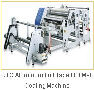 RTC Aluminum Foil Tape Hot Melt Coating Machine