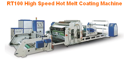 RT100 High Speed Hot Melt Coating Machine