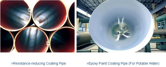 >> Internal Coating for Steel Pipe