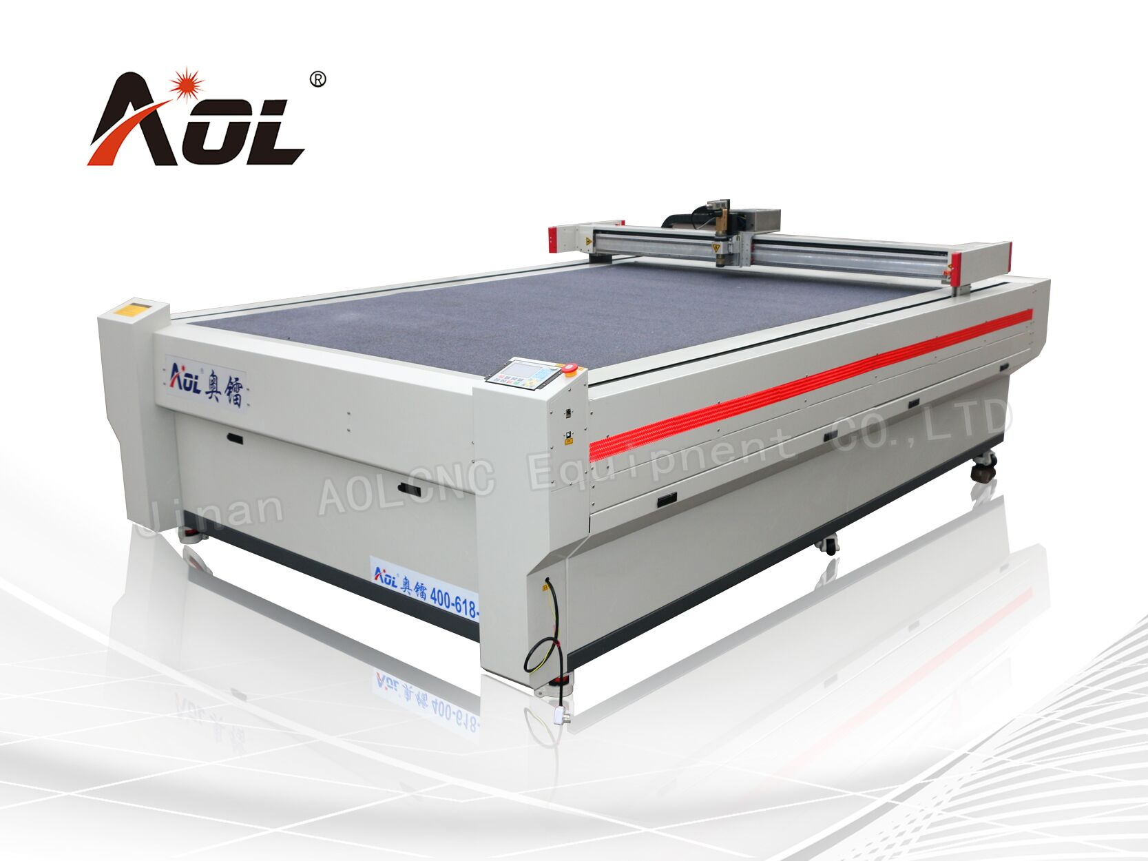 Oscillatory/vibratory knife cutting machine