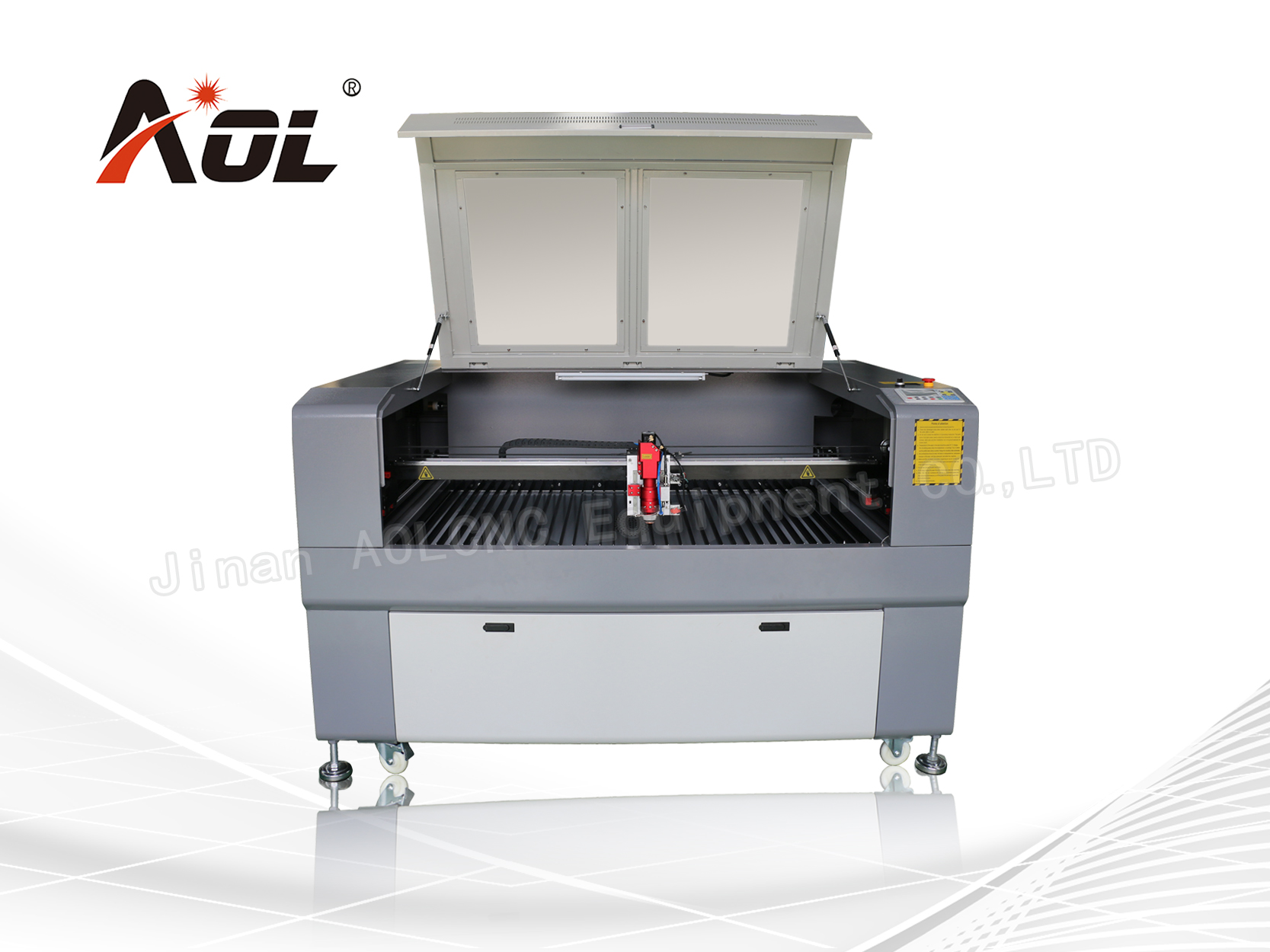 Metal and nonmetal laser cutting machine AOL1390