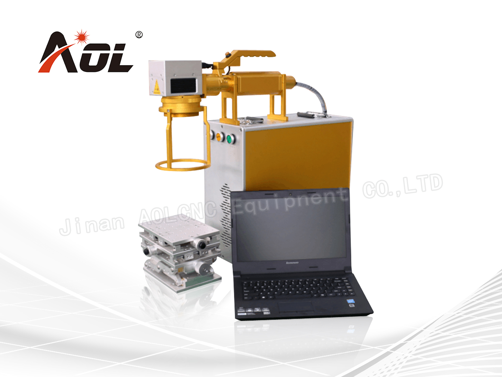 AOL Germany IPG Fiber laser marking machine 10W/20W/30W/50W