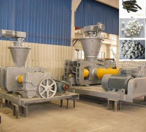 Chemical / mineral / fertilizer roll granulating machine