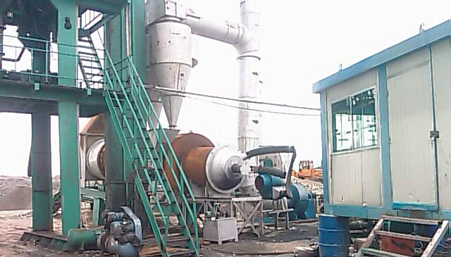 Asphalt Mixing Plant-Separated Bins