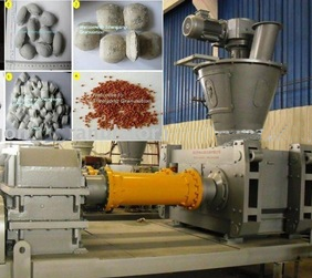 Compact powder press machine