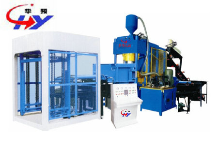 HY-400K Road-rim Brick Machine