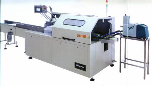 OPH-100B automatic facial tissue boxing and sealing machines