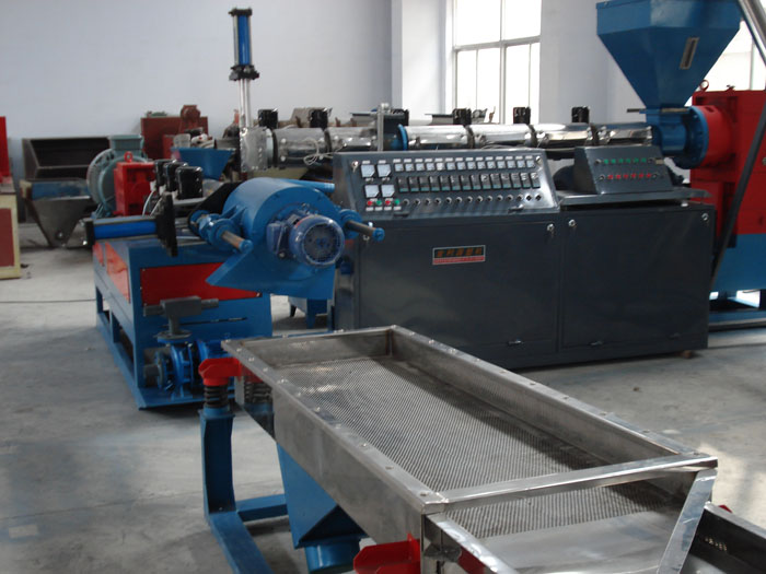 Waste Plastic Granulator Machine