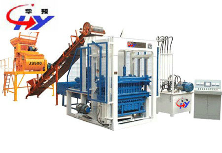 HY-QT5-20 Brick Making Machine