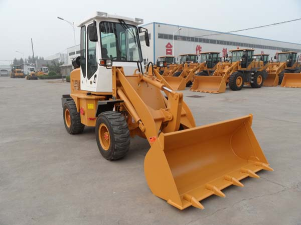 1.2 Ton ZL12F mini articulated loader with ce