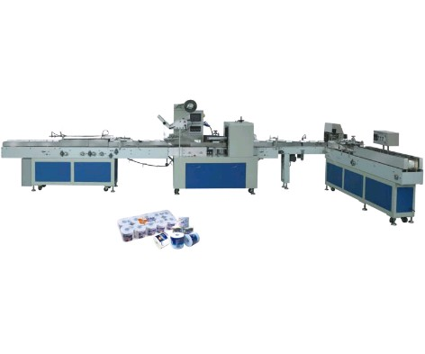 automatic single wrap packing machine for paper roll
