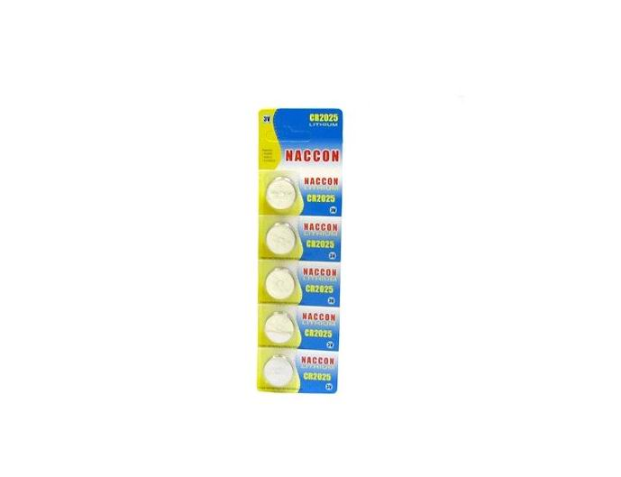 CR2025 150mAh Lithium Button Cell battery