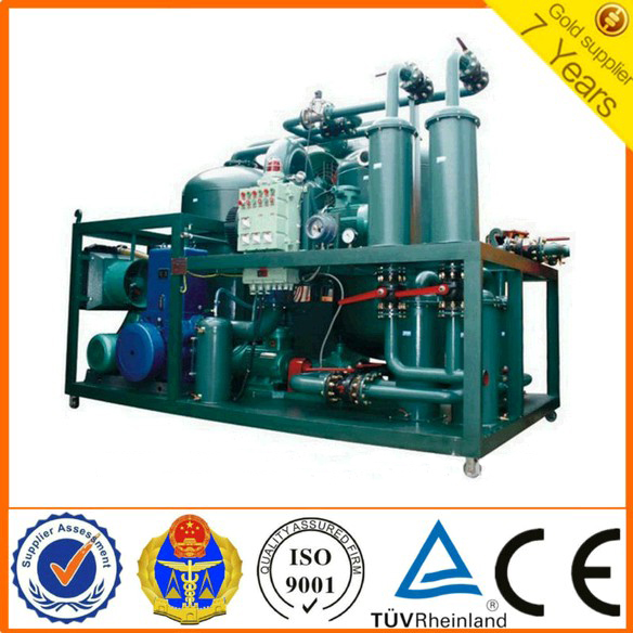 DYJ Series Portable Anti-Explosion Lubricating Oil Purifier