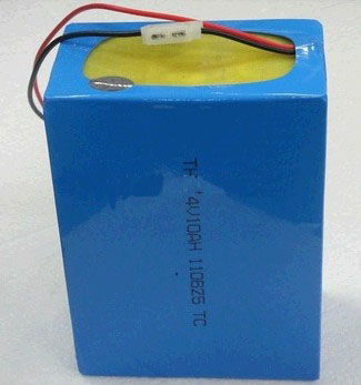 Li polymer battery pack for electric bycle(24V/10AH)