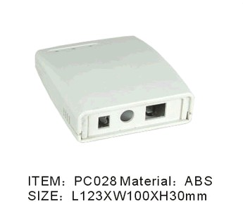 Plastic Outdoor Electrical Junction Connection Distribution Enclosure
