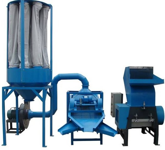 This set machine use to separate copper from copper wire, and the purity of copper after separated can reach 99%.Now give you all information about it as below