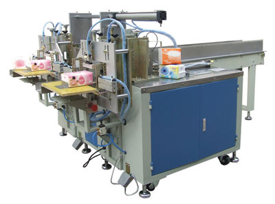 D660A square napkin soft pack machine.