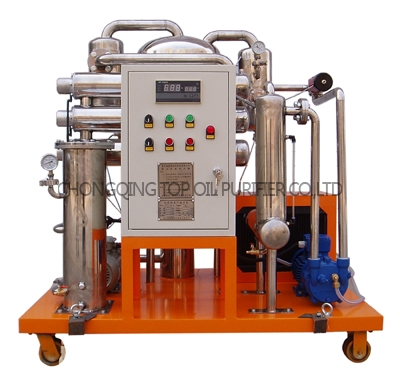 Series TYF Phosphate ester fire-resistant oil Purifier
